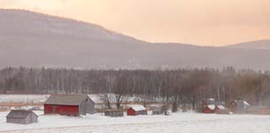 Clearing Snow Squall, Danby, Vermont